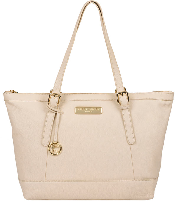 'Emily' Frappe Leather Tote Bag image 1