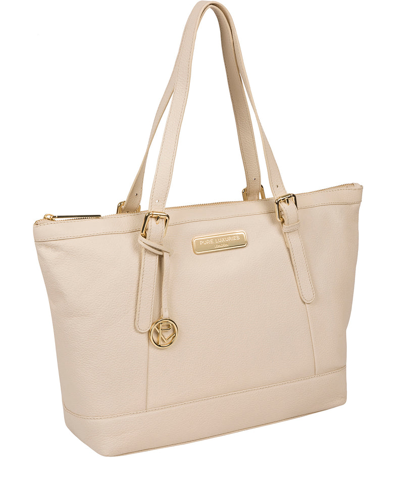 'Emily' Frappe Leather Tote Bag image 5