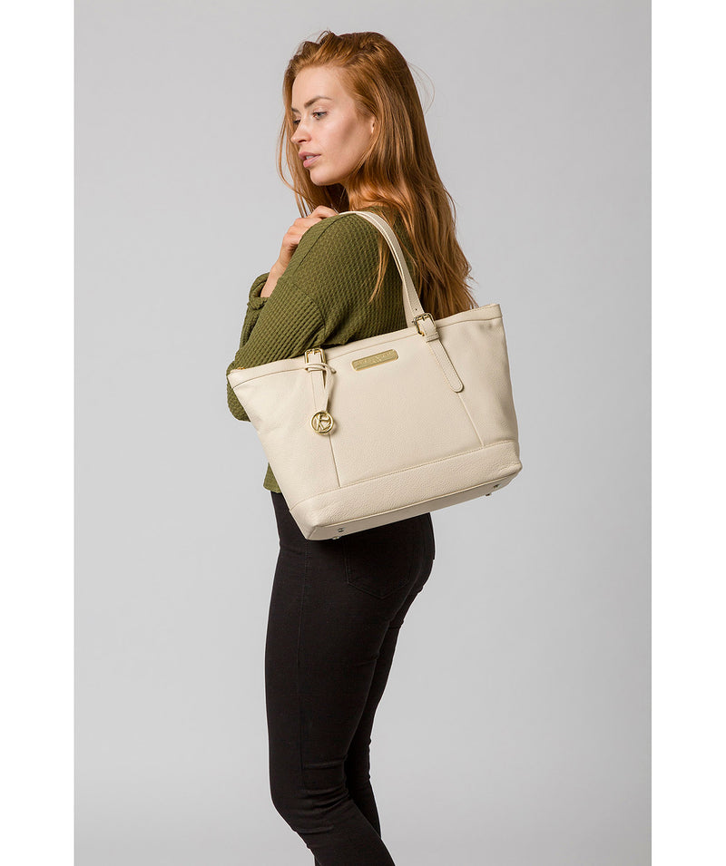 'Emily' Frappe Leather Tote Bag image 2