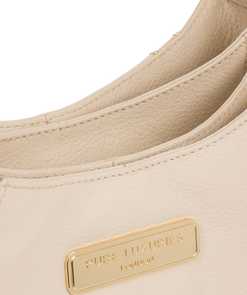 'Abigail' Frappe Leather Shoulder Bag image 8