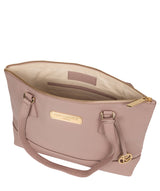 'Keira' Blush Pink  Leather Handbag