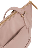 'Keira' Blush Pink  Leather Tote Bag