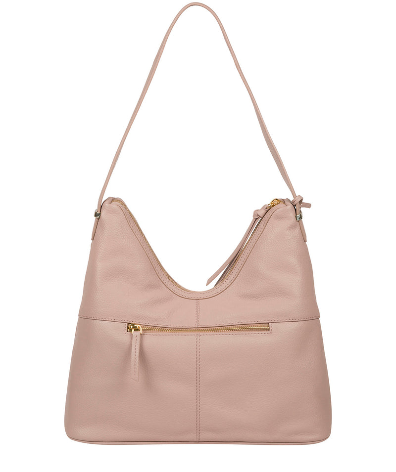 'Felicity' Blush Pink Leather Shoulder Bag image 3
