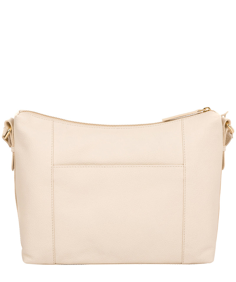 'Jenna' Frappe Leather Shoulder Bag image 3