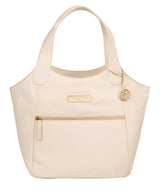 'Roxanne' Frappe Leather Tote Bag image 1