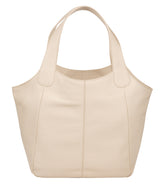 'Roxanne' Frappe Leather Tote Bag image 3