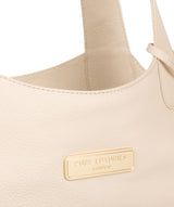 'Roxanne' Frappe Leather Tote Bag image 6