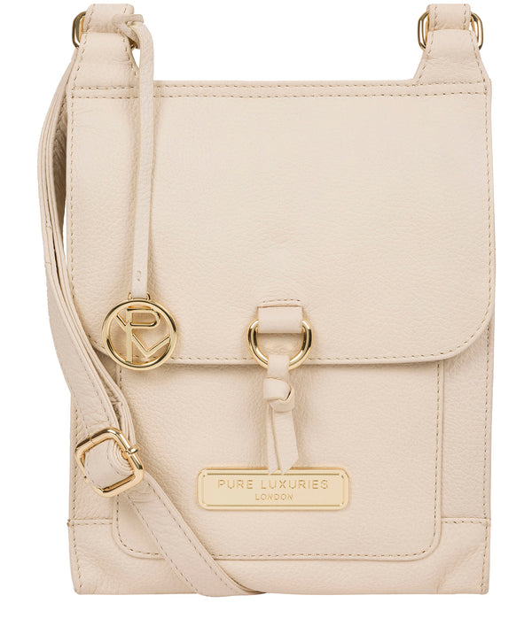 'Naomi' Frappe Leather Cross Body Bag image 1
