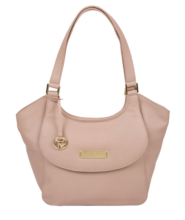 'Grace' Blush Pink Leather Tote Bag image 1