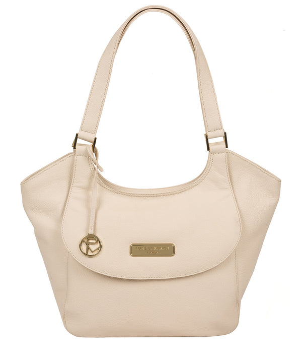 'Grace' Frappe Leather Tote Bag image 1