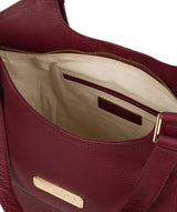 'Grace' Pomegranate Leather Tote Bag image 4