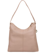 'Imogen' Blush Pink Leather Shoulder Bag image 3