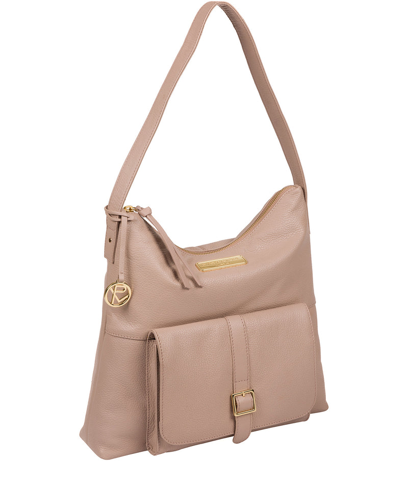'Imogen' Blush Pink Leather Shoulder Bag image 5