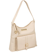 'Imogen' Frappe Leather Shoulder Bag image 5