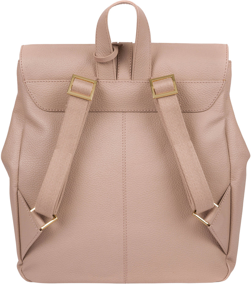 'Daisy' Blush Pink Leather Backpack image 3