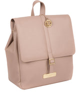 'Daisy' Blush Pink Leather Backpack image 5
