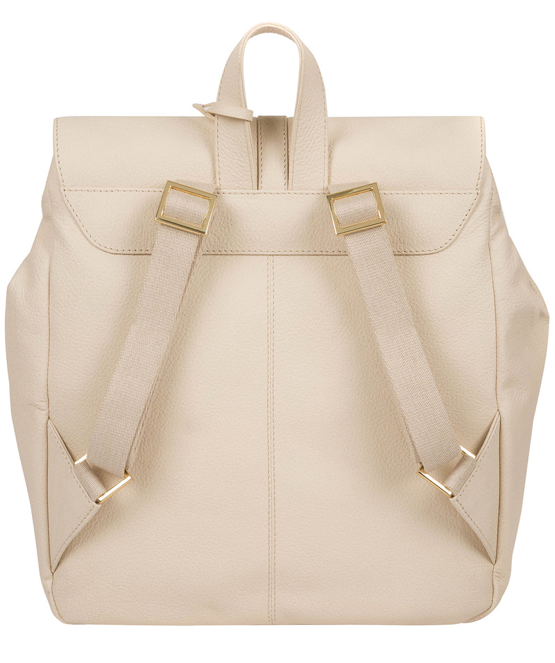 'Daisy' Frappe Leather Backpack image 3