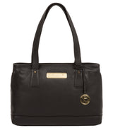 'Kate' Black Leather Handbag image 1