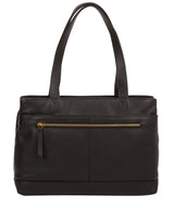 'Kate' Black Leather Handbag image 3