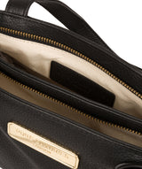 'Kate' Black Leather Handbag image 4
