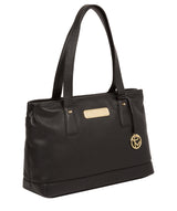 'Kate' Black Leather Handbag image 5