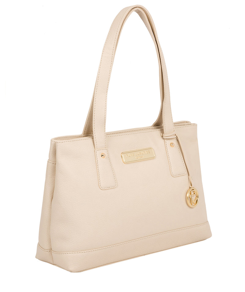 'Kate' Frappe Leather Handbag image 5
