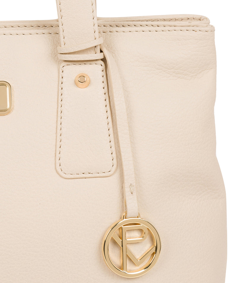 'Kate' Frappe Leather Handbag image 6