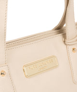 'Kate' Frappe Leather Handbag image 7