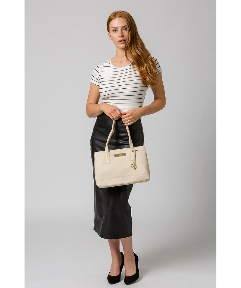 'Kate' Frappe Leather Handbag image 2