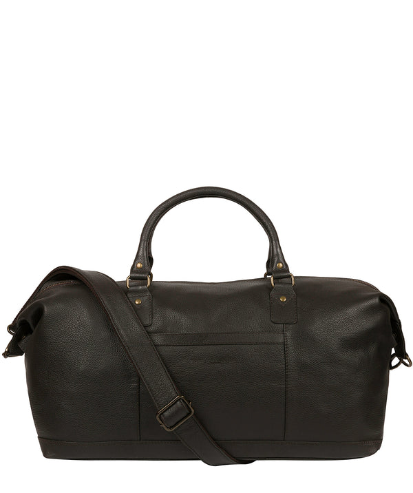 'Cargo' Brown Leather Holdall image 1