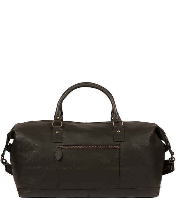 'Cargo' Brown Leather Holdall Pure Luxuries London