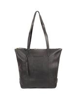 'Blendon' Slate Leather Tote Bag