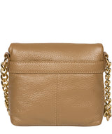 'Giselle' Metallic Champagne Leather Cross Body Bag image 3