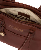 'Chatham' Chestnut Leather Handbag