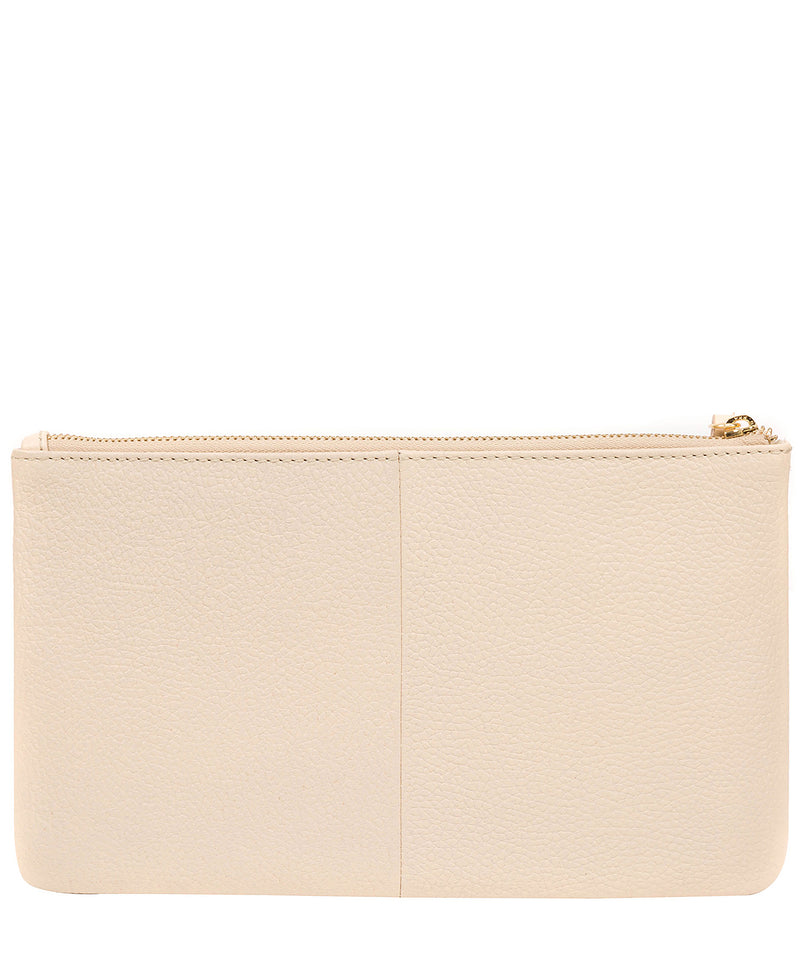 'Arlesey' Frappe Leather Clutch Bag