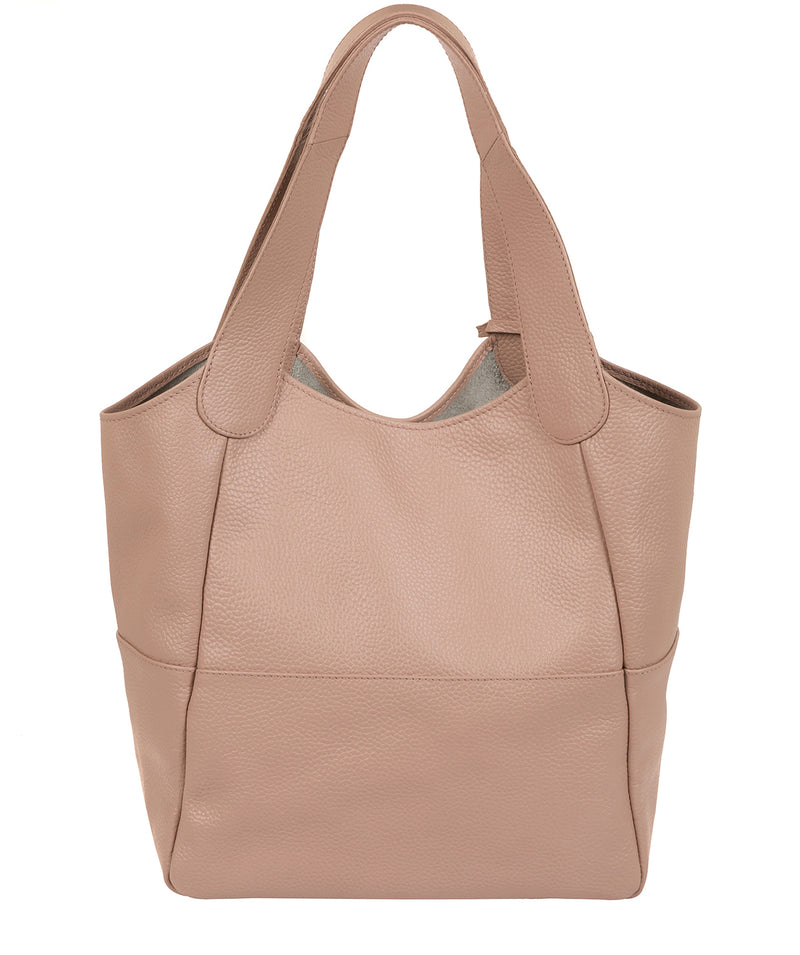 'Freer' Blush Pink Leather Tote Bag