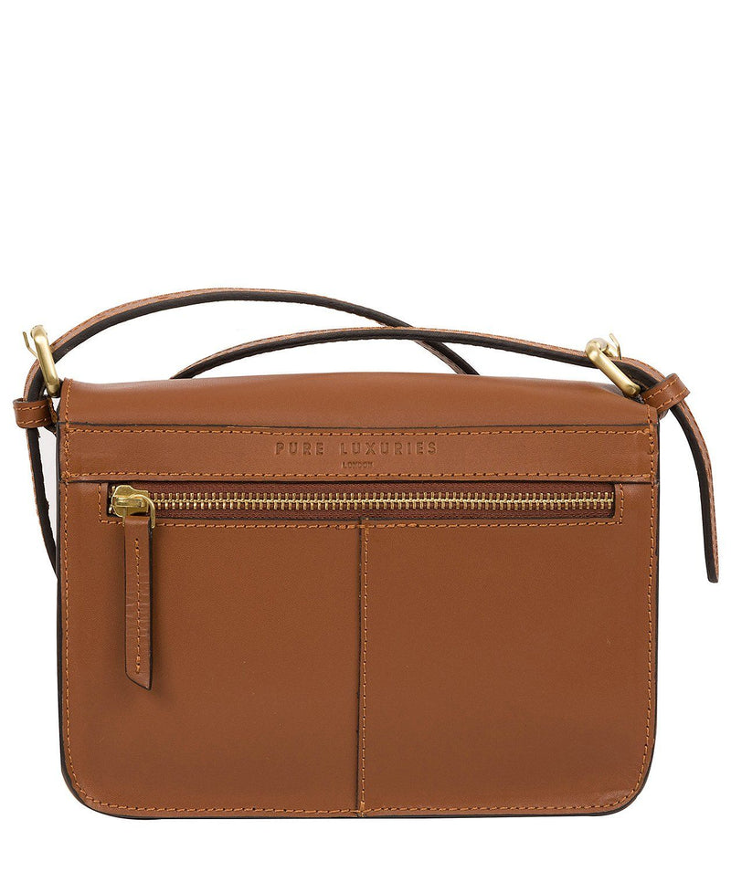 'Langdale' Tan Leather Cross Body Bag