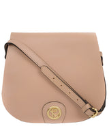 'Ambleside' Blush Pink Leather Cross Body Bag
