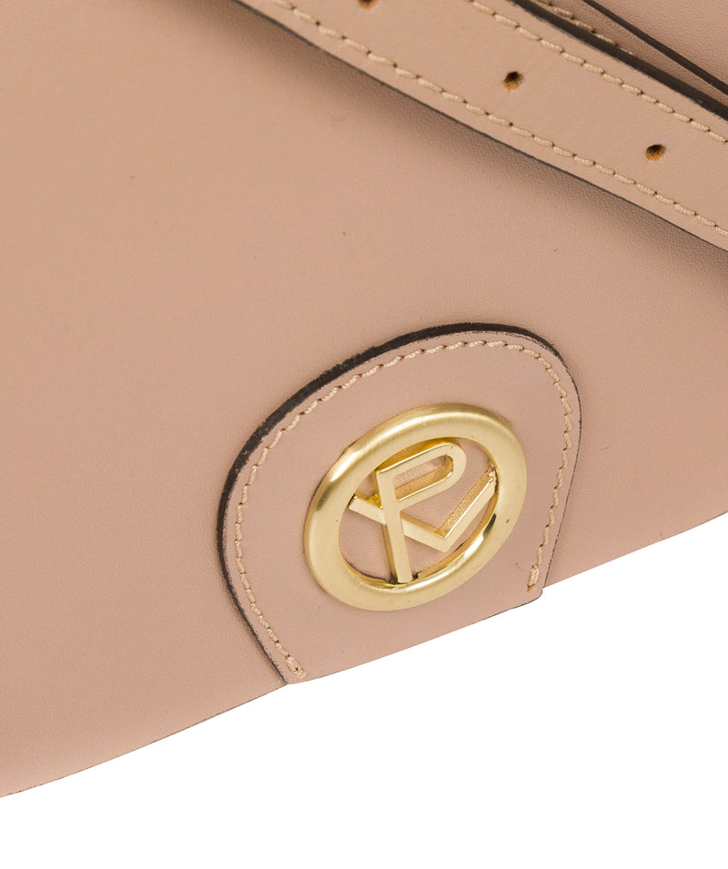 'Ambleside' Blush Pink Leather Cross Body Bag Pure Luxuries London