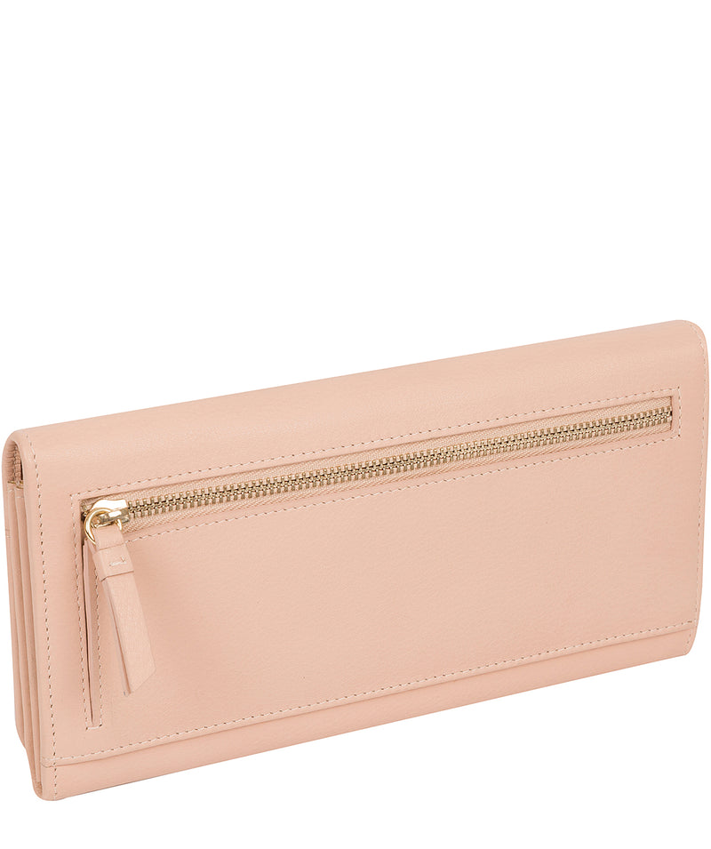 'Izabel' Pink Cloud Leather Purse
