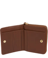 'Emely' Chestnut Leather Purse