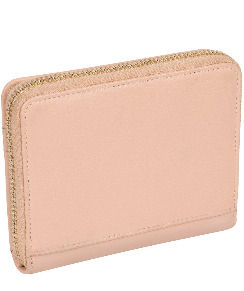 'Emely' Pink Cloud Leather Purse