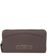 'Jenika' Smoke Grey Leather Purse
