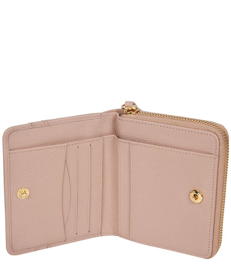 'Emely' Blush Pink Leather Purse