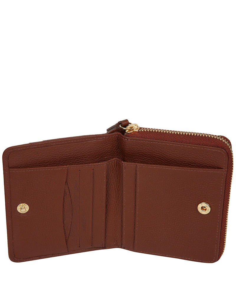 'Emely' Nut Leather Purse