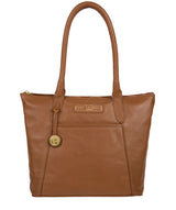 'Arundel' Tan Leather Handbag image 1