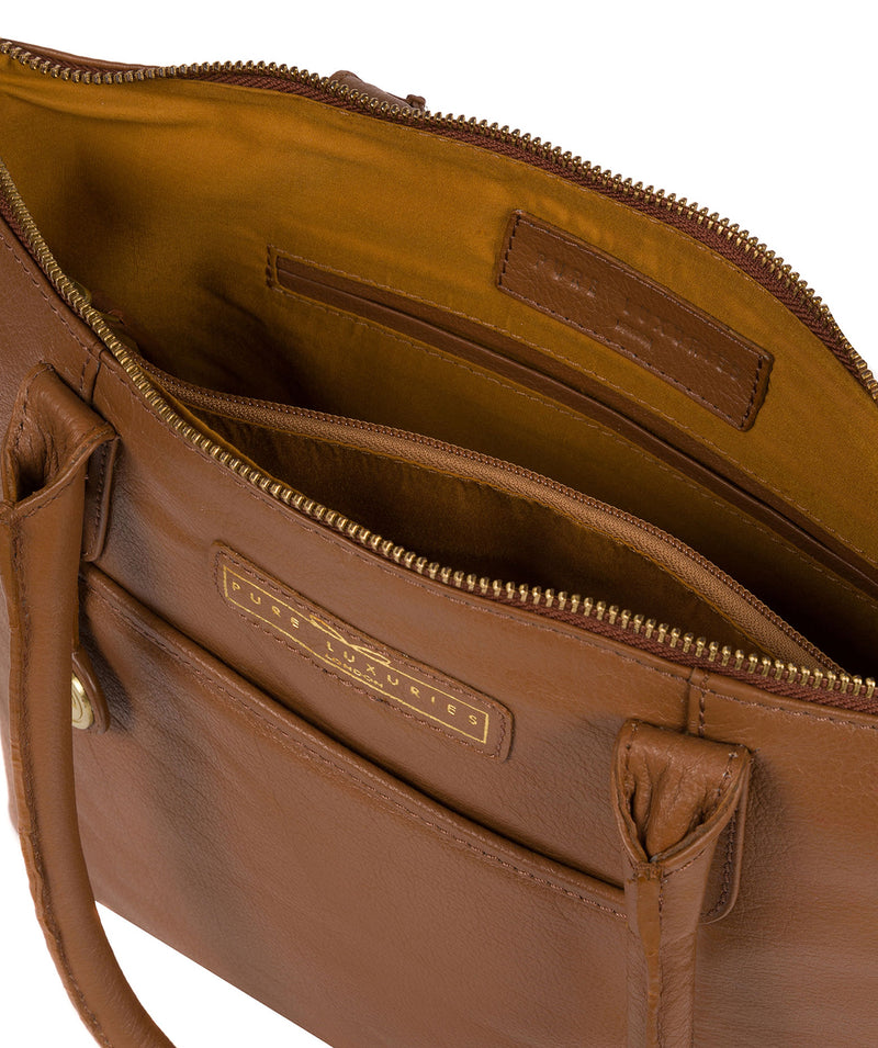 'Arundel' Tan Leather Handbag image 4