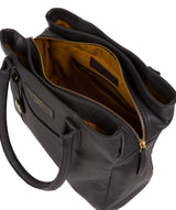 'Goldbourne' Navy Leather Handbag image 4