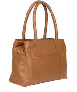 'Goldbourne' Tan Leather Handbag image 3