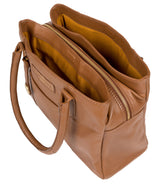 'Goldbourne' Tan Leather Handbag image 5